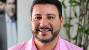 O prefeito de Ilhabela, Márcio Tenório (MDB)