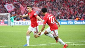 Nas despedidas de Robben e Ribéry, Lewandowski brilha, e Bayern fatura a Copa da Alemanha