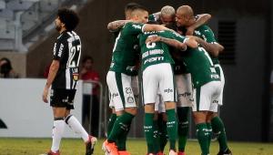 Com decisão do STJD, líder Palmeiras tem maior vantagem na década após 9 rodadas