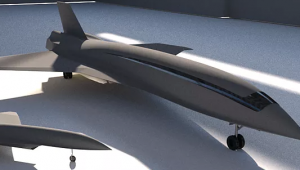 Start up americana lança projeto para avião hipersônico