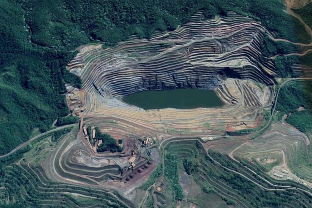 Deslocamento de talude de mina da Vale atinge 18 centímetros