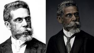 Campanha retrata Machado de Assis negro e pede substituição em livros
