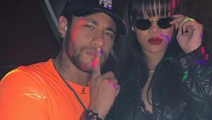 Neymar tieta Rihanna durante evento em Paris: 'Rainha e mulher poderosa'