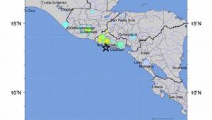 Um tremor de 6,8 graus na escala Richter atingiu na madrugada desta quinta-feira (30) El Salvador,