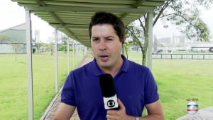 Abelha entra e sai da boca de repórter da Globo ao vivo; assista