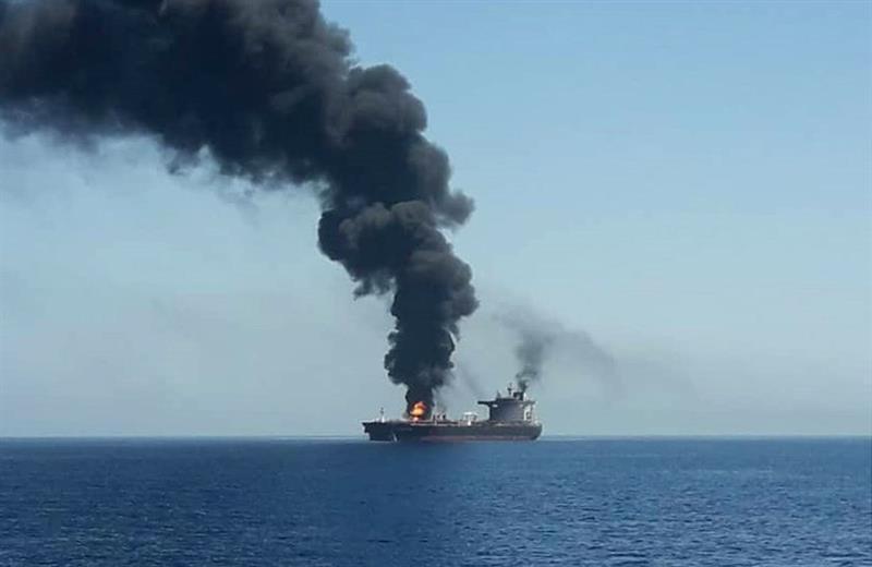 Resultado de imagem para irã estados unidos navios explosão