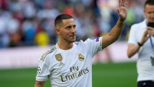 Hazard é apresentado no Real Madrid e fala em 'sonho' de criança