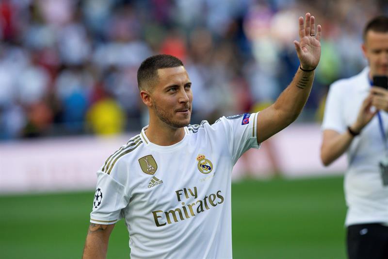 Mais completo, Hazard teve números melhores que Vinícius Jr., Bale e Vázquez