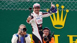 Com Toyota, Fernando Alonso ganha em Le Mans pelo segundo ano consecutivo