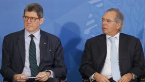 Paulo Guedes conversou com Joaquim Levy sobre demissão do BNDES