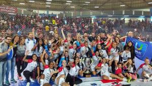 Time brasileiro faz história e fatura o 1º título mundial de clubes no futsal feminino