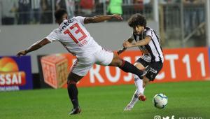 Atlético-MG x São Paulo ficam no empate em último jogo antes da pausa para Copa América