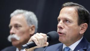 'Não vamos perder a Fórmula 1', diz Doria sobre mudança de GP para o Rio
