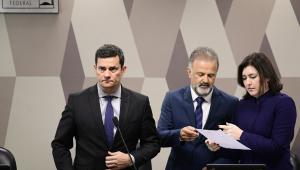 Moro afirma que repudia ameaças a parlamentares em razão do vazamento de supostas conversas