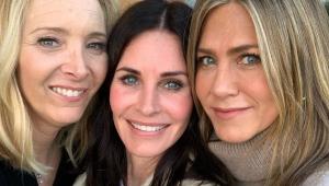 Atrizes de 'Friends' se reencontram e empolgam fãs