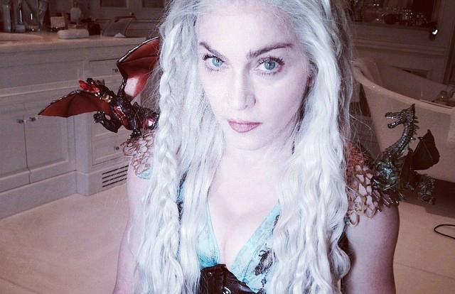 Madonna queria que Daenerys terminasse como rainha em 'Game of Thrones'