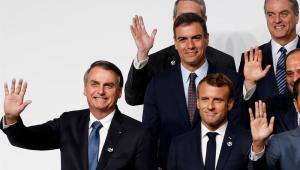 Depois de postar foto fake de queimada, Macron ameaça vetar acordo Mercosul-UE