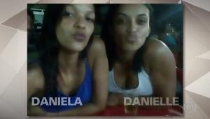Daniela Estevão Fortes, de 24 anos, era procurada pela polícia, mas a irmã dela, Danielle, de 26 anos, ficou 11 dias detida em seu lugar