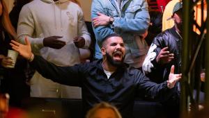Drake pira com título da NBA do Toronto Raptors; assista