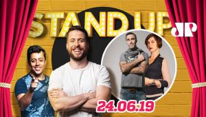 Diogo Portugal e Maria Paula   Stand Up Jovem Pan