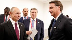 Bolsonaro diz esperar ajuda de Putin para resolver crise na Venezuela