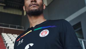 Clube alemão faz homenagem às cores LGBT+ no novo uniforme