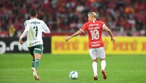Inter vence no tempo normal e nos pênaltis e elimina o Palmeiras da Copa do Brasil