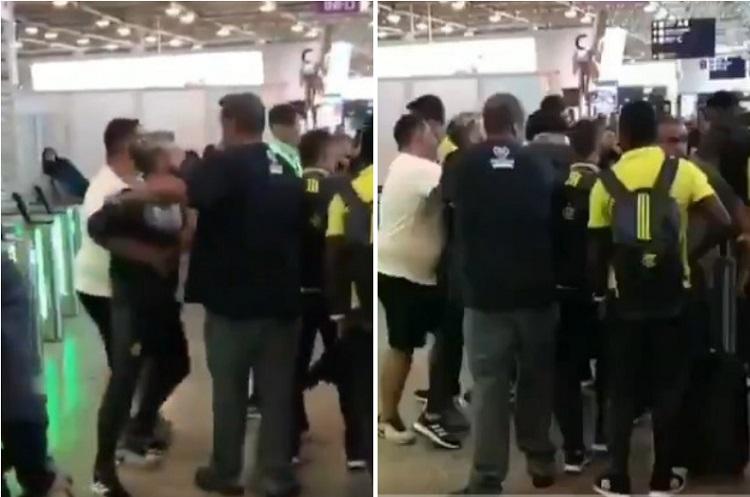Diego se irrita com protesto, encara torcedores do Flamengo e tem de ser contido; assista