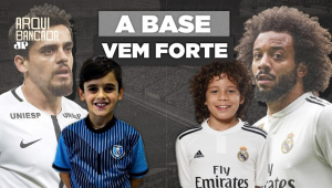 A base vem como? Aos 9 anos, filhos de Fagner e Marcelo impressionam em Corinthians e Real Madrid
