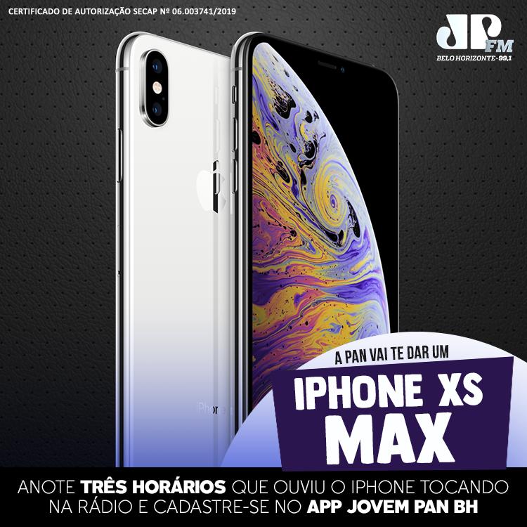 Promoção iPhone XS Max