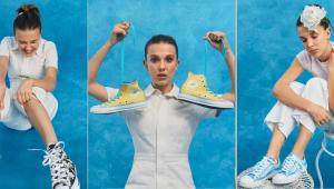 Millie Bobby Brown assina com a Converse e lança linha de tênis