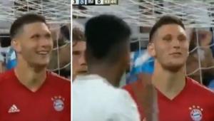 'Tente aí!' Zagueiro alemão deu risada e desafiou Rodrygo antes de golaço de falta; assista