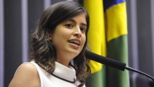 Tábata Amaral e mais 4 deputados entram com ação para desfiliação partidária