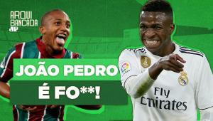 Melhor que Vinícius Júnior? OLHA como João Pedro DESTRÓI no Fluminense!