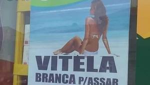 Após polêmica, açougue de Portugal retira cartazes que anunciavam carnes com foto de mulher de biquíni