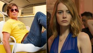 Emma Stone e Brad Pitt são cotados para novo filme do diretor de 'La La Land'