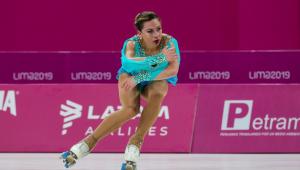 Pan: Brasileira ganha ouro inédito em patinação artística feminina