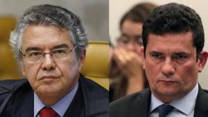 Marco Aurélio Mello x Sergio Moro
