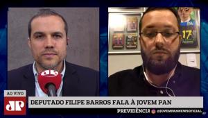 Entrevista com o deputado Filipe Barros