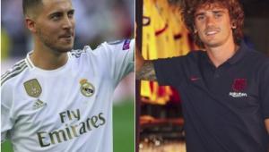 Hazard ou Griezmann? Compare títulos, gols e assistências dos reforços de Real e Barça