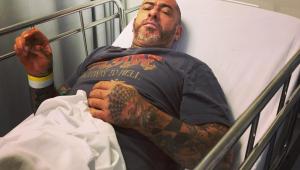 Henrique Fogaça sofre acidente de moto: 'Peguei uma pedra na roda da frente e fui pro chão'