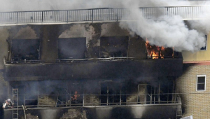 Suspeito de ter causado o incêndio no Kyoto Animation acusa o estúdio de plágio