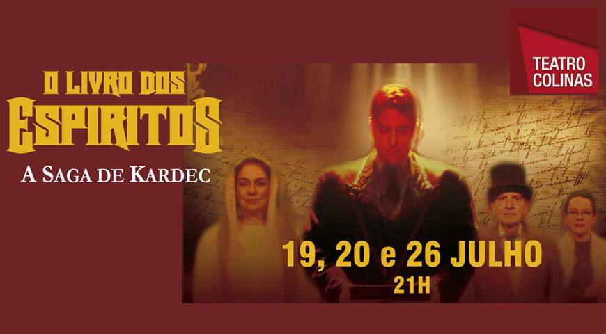 Confira a programação do Teatro Colinas.