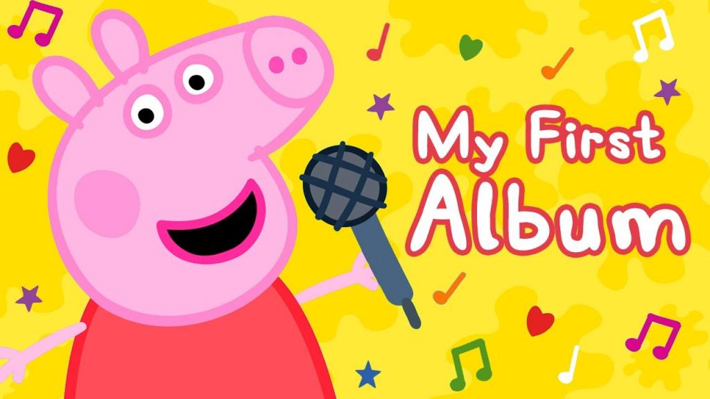 Primeiro disco da Peppa Pig será lançado nesta semana; ouça o single