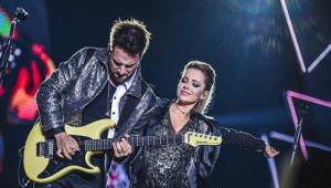 'Não foi fácil', diz Sandy após cantar doente em São Paulo