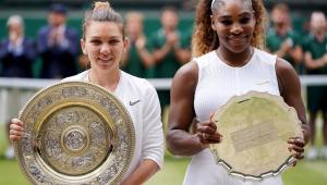 Halep atropela Serena Williams e conquista Wimbledon pela 1ª vez