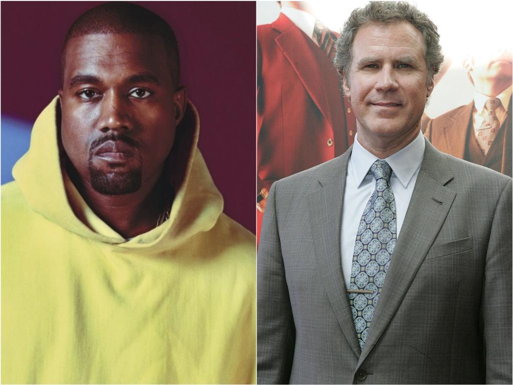 Kanye West quer Will Ferrell como protagonista de sua cinebiografia
