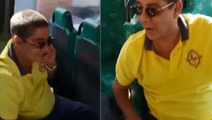 Fãs são surpreendidos ao pegarem ônibus com Zeca Pagodinho no RJ
