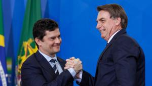 Moro diz apoiar reeleição de Bolsonaro, mas não nega candidatura após 2022