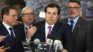 Maia e Doria dizem que PSDB e DEM estarão juntos em 2020 e 2022